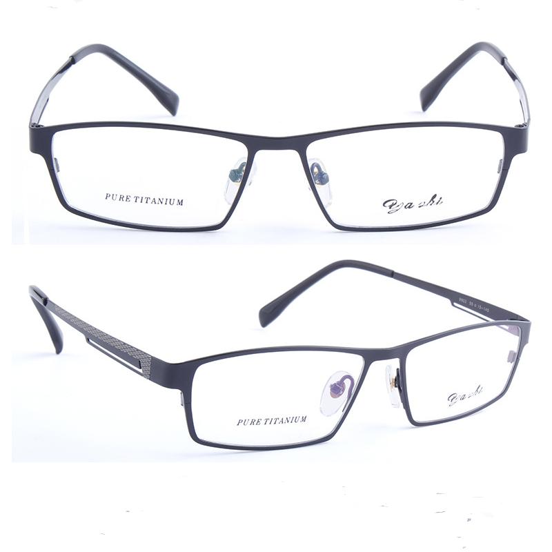 Full frame anti blue light glasses for men with spectacle frame
