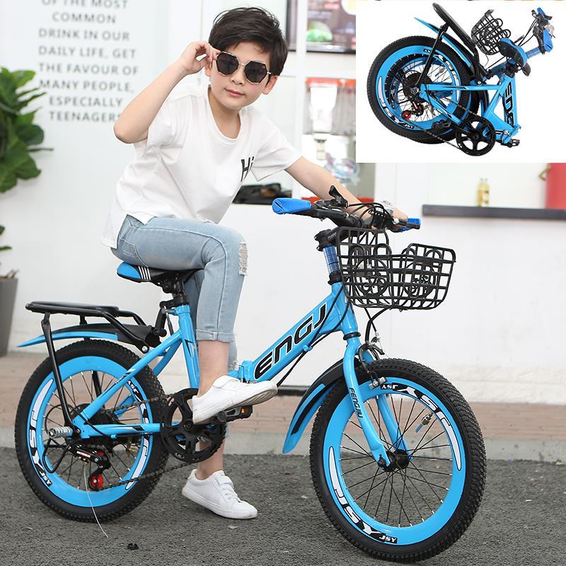 折り畳み式子供用自転車男性8変速マウンテンバイク6-7-10-12歳15歳の男の子の中の大学生の自転車