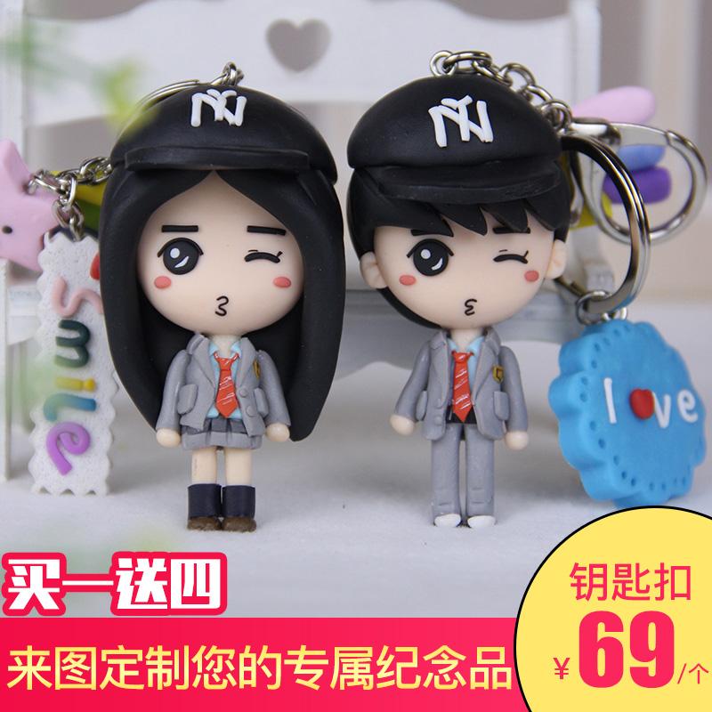 Полимерная глина кукла сделанный на заказ реальность кукла ущипнуть кукла грязь модель diy кукла q издание брелок реальность сделанный на заказ подарок грязь