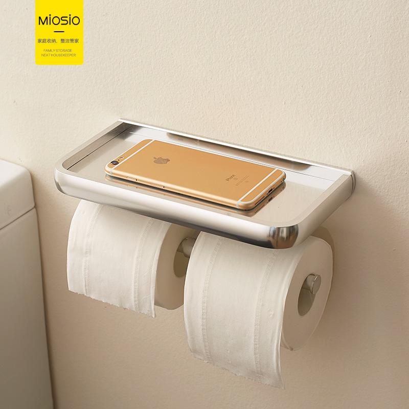 Космический ванная комната ткань мойте руки между туалет бумага полка подвесной туалет рулон полка перфорация здравоохранения бумага полка