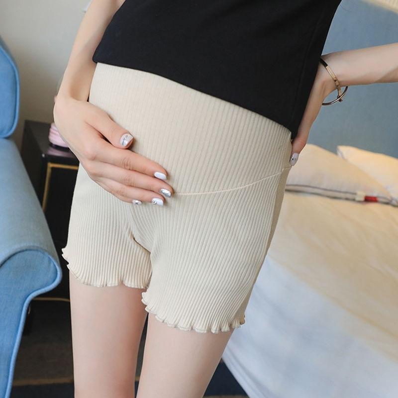 80-260斤孕妇安全裤防走光孕妇打底裤加大码薄款孕妇短裤新款夏装