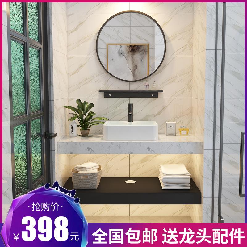 现代简约大理石洗手盆卫生间北欧盆10-30新券