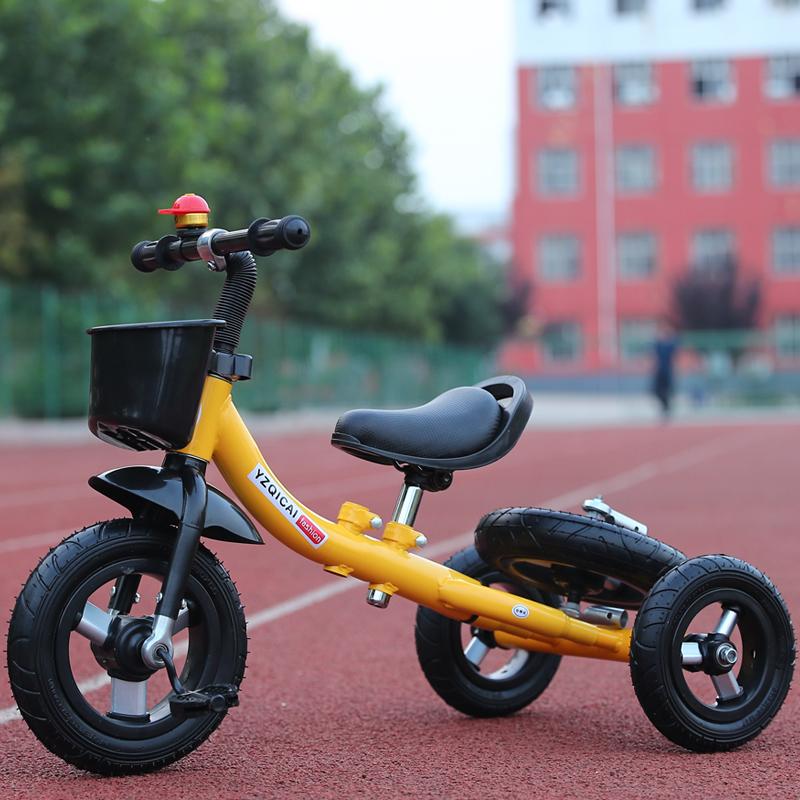 新款三轮车脚踏车变形车2岁―6岁宝宝滑行车多功能童车漂移车包邮