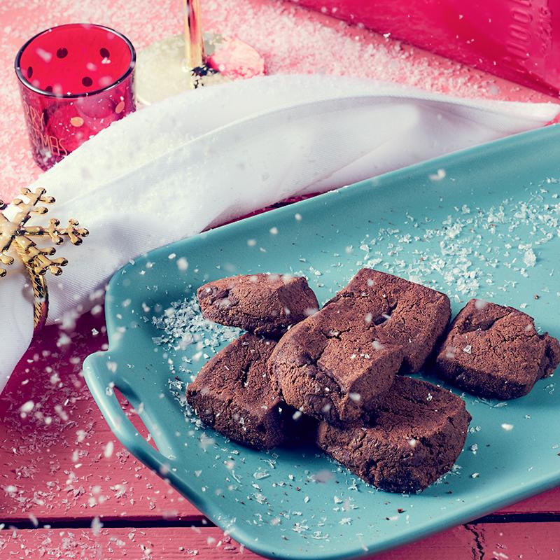 coookie9海盐巧克力曲奇饼干礼盒网红曲奇手工零食盐之花