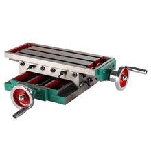 高精密十字拖板滑台diy 数控 台钻十字工作台精密 十字滑台小型
