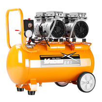Sub-effective small household air compressor oil-free mute woodworking paint pump 220V air compressor pumping pump
