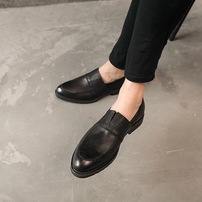 英伦真皮时尚套脚牛皮鞋 潮鞋303-JDL-33-P235