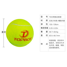 The beginners in TOPACE tennis training children training ball play wear resistant 10 only to 60