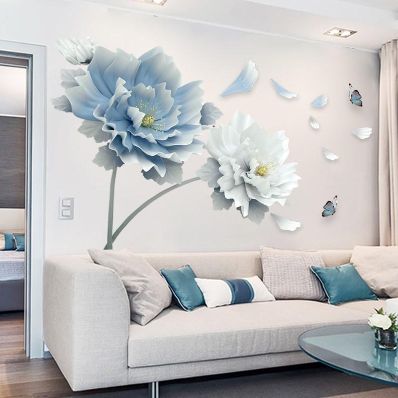 客厅墙面装饰电视沙发背景贴纸3d立体墙贴自粘现代简约贴画大气