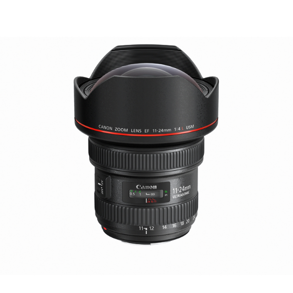 国行正品 佳能 EF 11-24mm f/4L USM 镜头 超广角变焦 红圈超广角