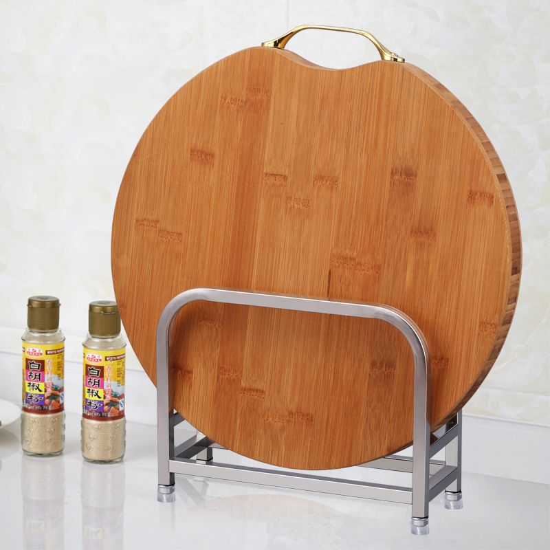 廚將軍真不鏽鋼砧板架菜板架廚房置物架瀝水案板架菜墩架鍋蓋架