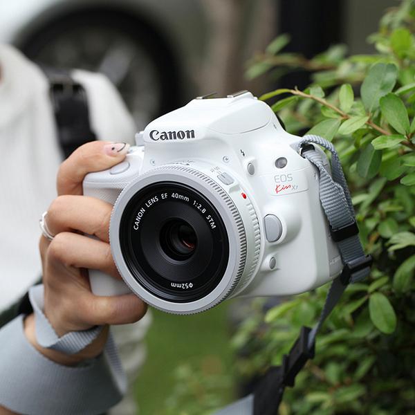 【国内】Canon/佳能100D单反套机白色单反kissX7佳能100d相机