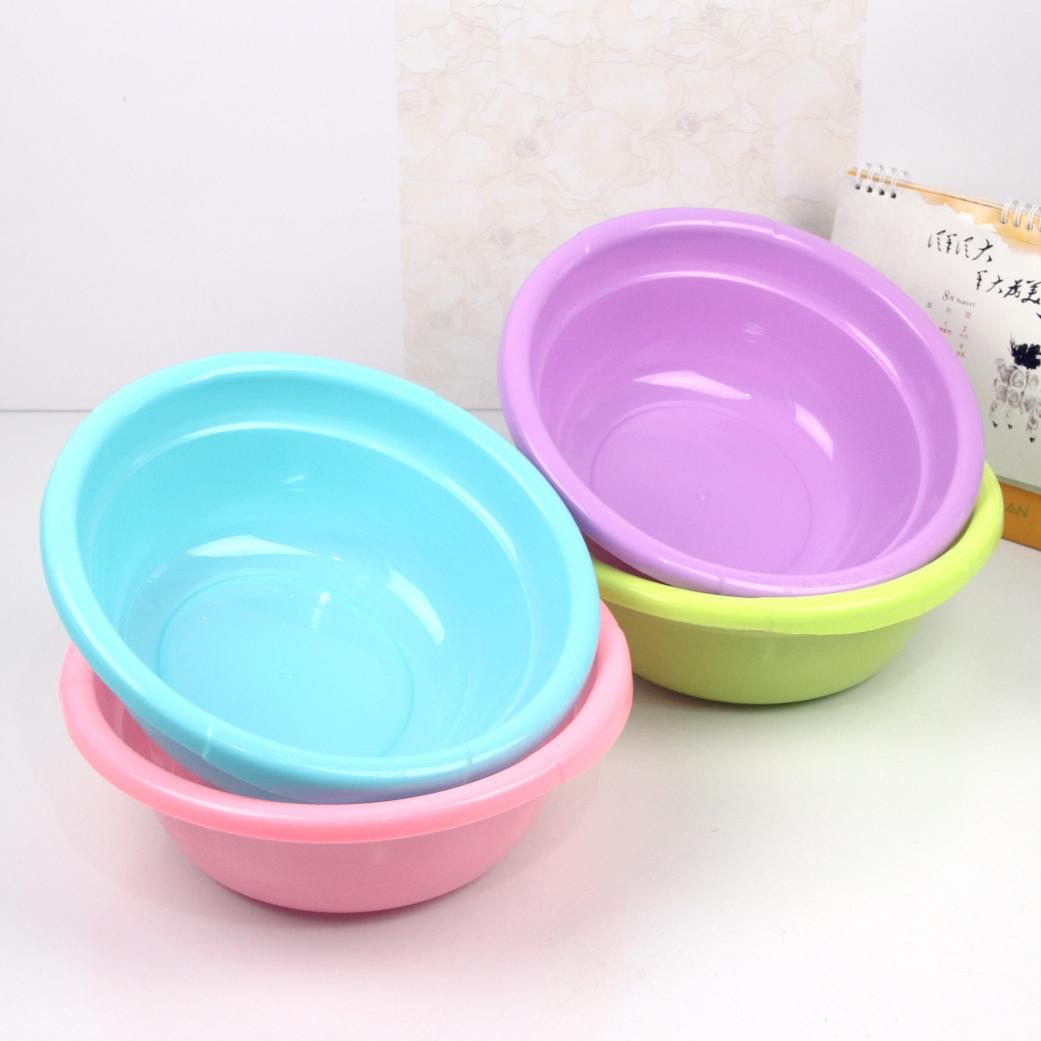 Круглый пластик мыть бассейн домой мыть блюдо бассейн прачечная бассейн ребенок умывальник резные конструкции небольшой бассейн цвет умывальник мыть бассейн