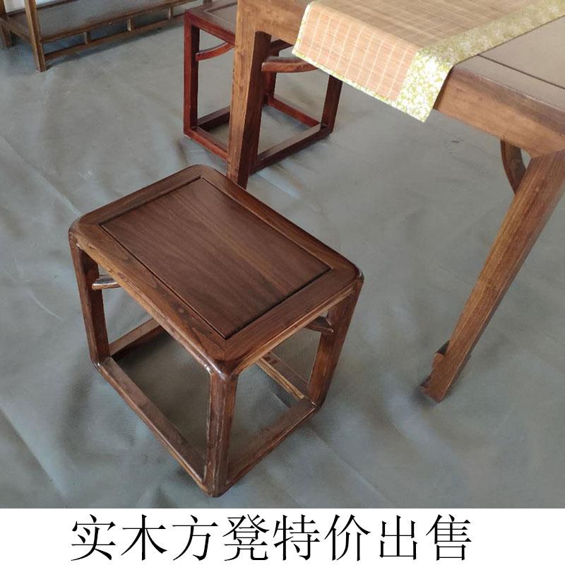 老榆木板凳家用茶室小民宿换鞋凳