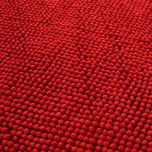 特密短毛毛虫地垫雪尼尔客厅卧室茶几垫四季家用床边满铺防滑地毯