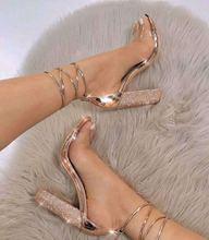 2018妇女的凉鞋босоножкиженheel-strapsandals