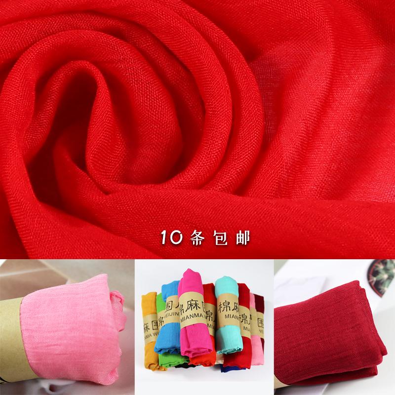 Женские шарфы из хлопка Артикул 608852978984