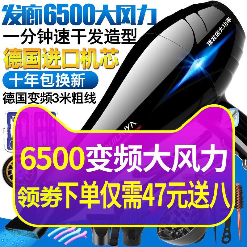 电吹风机家用大功率6000发廊专用5000W以上理发店负离子静音4000W