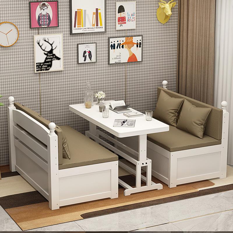券后1368.00元北欧风实木沙发床两用带书桌沙发床