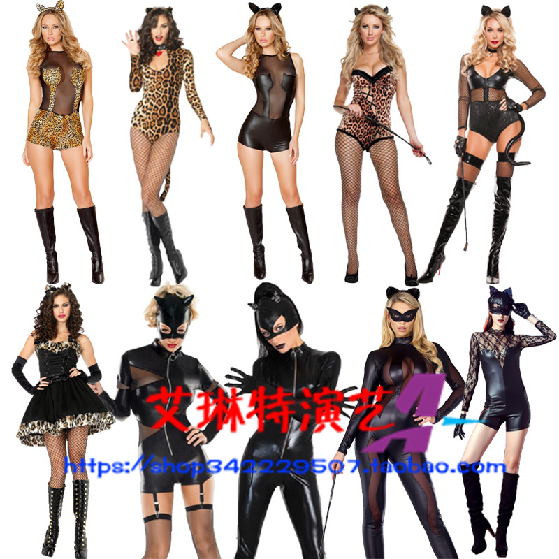 Halloween Costume female swallow tail sexy rabbit girl show dress fashion stage cos Bar Party uniform temptation