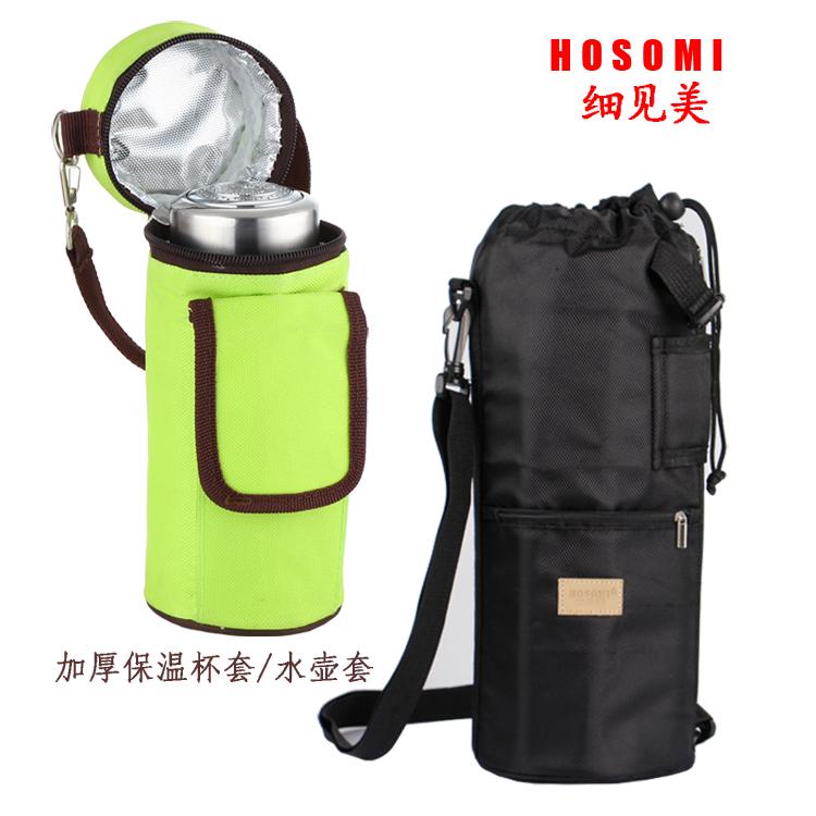 Хорошо увидеть прекрасный утолщённый воды горшок мешок стаканы набор пакет / на открытом воздухе сумка ошпаривают изоляция рюкзак / теплоизоляции мешок защитный кожух