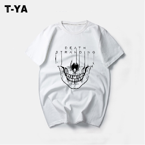 Death stranding T-shirt short sleeve men and women game peripheral clothes cotton half sleeve shirt summer round neck can be changed picture t