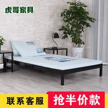 简易铁艺床铁床架双人床1.5米1.8米单人床1.2米儿童床韩式塌塌米