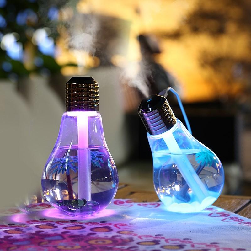 11月30日最新优惠usb静音补水灯泡家用迷你加湿器
