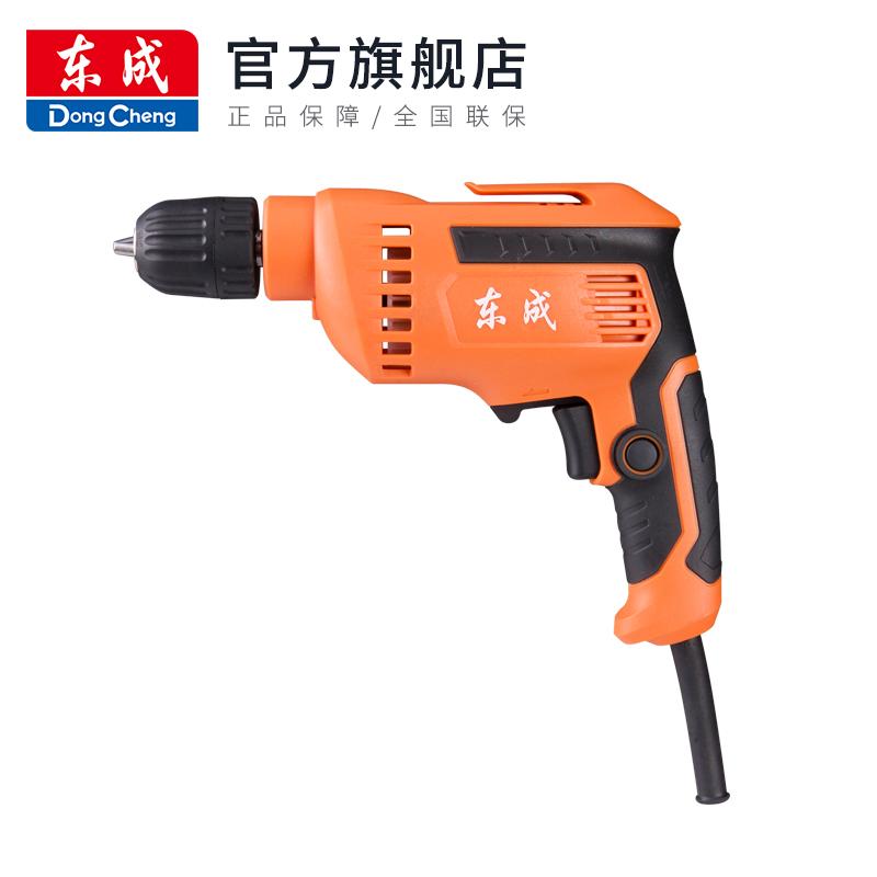 家用手电钻小型电转DJZ460-10K东城电动手钻多功能手枪钻工具