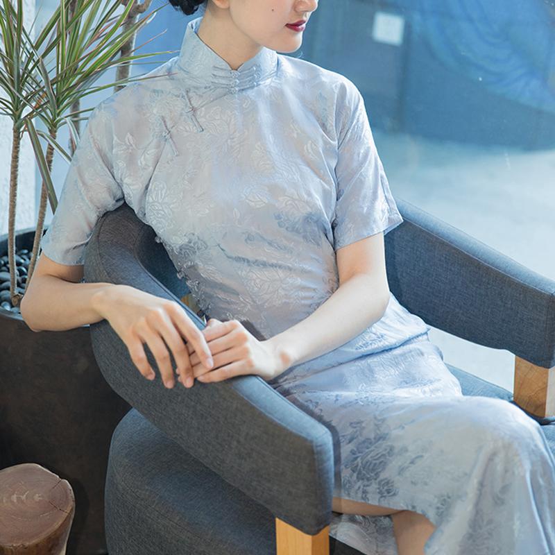 包邮唐之语夏季日常年轻款小清新连衣裙