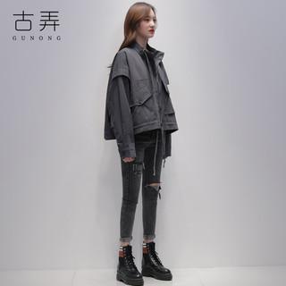 风衣女短款小个子2020秋季新款韩版宽松今年流行女装春秋夹克外套
