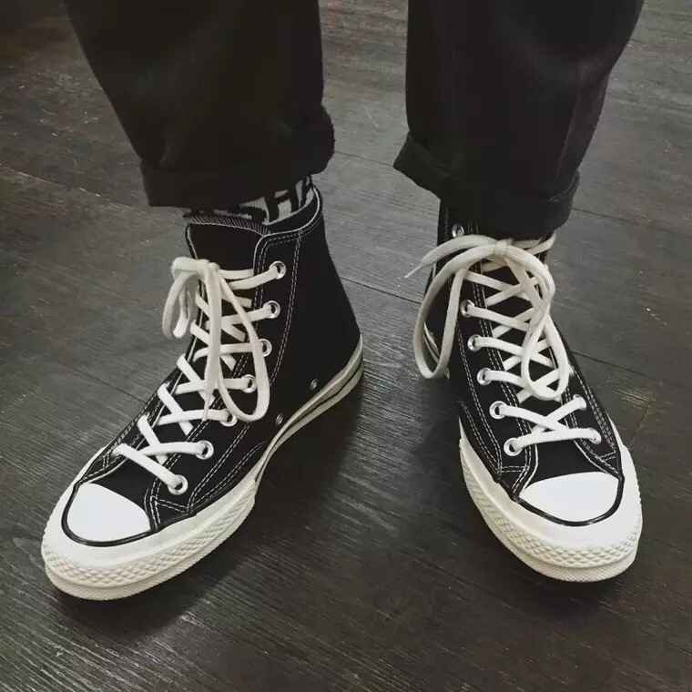 Post-90s roam all over the world re engraved 1970s three star classic canvas shoes female Harajuku lovers Gangfeng board shoes male