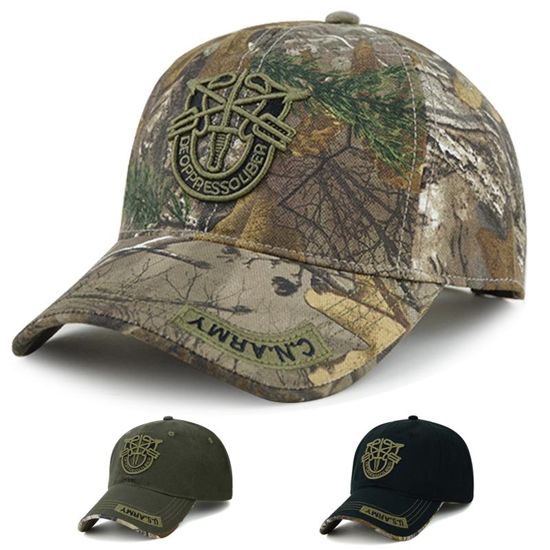 米国の軍帽の野球の帽子の男の迷彩のアヒルの舌の帽子は春夏秋冬のアウトドアの登山のレジャーは太陽の帽子を遮ります