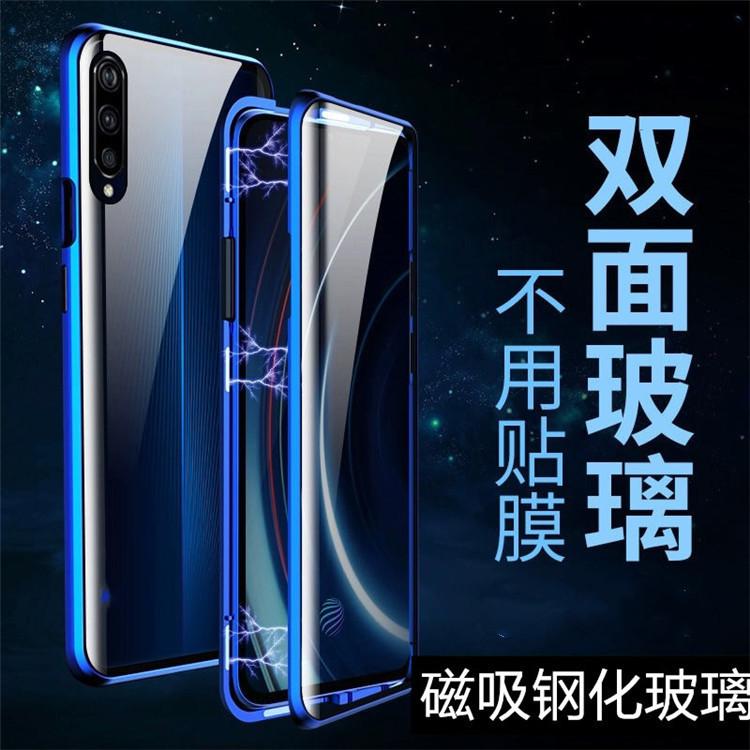 限8000张券万滋王oppoa9 f11手机壳K3 R17双面玻璃万磁王全包防摔磁吸透明男