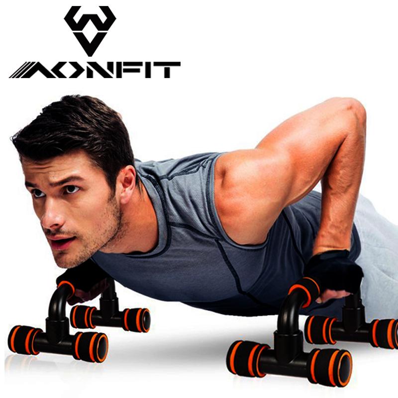 AONFIT отжимания стоять практика рука мышца грудь мышца живот мышца домой фитнес устройство лесоматериалы офис двутавроввая сильный фитнес тело