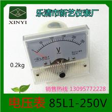 乐清新艺仪表电压表 85L1-250V
