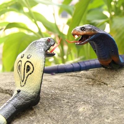 智能電動遙控模擬蛇創意恐怖動物整蠱嚇人玩具送男孩生日兒童禮物