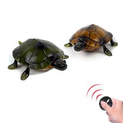 仿真遥控乌龟儿童海龟玩具模型整人智能遥控动物玩具男孩新奇礼物