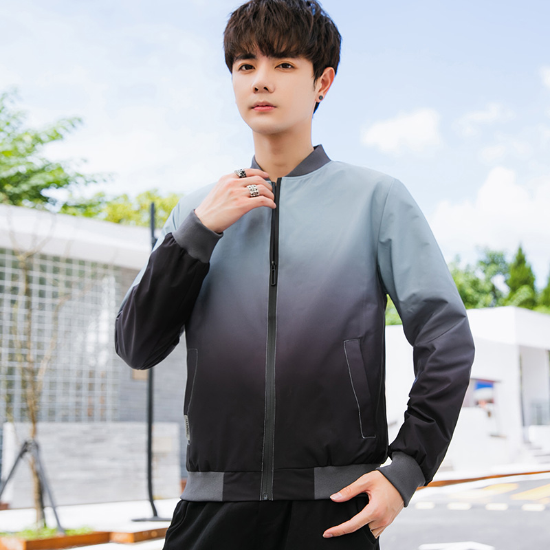 Young mens jacket in spring and summer