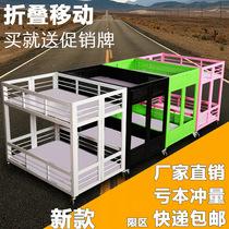 超市促销台展示架折叠促销花车货架特价车甩货车促销车特价处理台