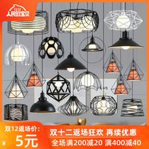 长条灯创意餐桌灯极简店铺吧台网红灯饰led北欧餐厅吊灯现代简约