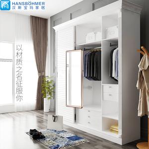 领3元券购买衣柜镜子推拉镜衣橱伸缩折叠全身镜壁挂试衣柜里的内置穿衣镜旋转