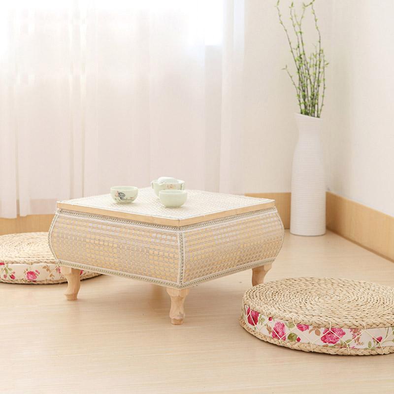 日式客厅多功能简约现代方形茶几简易创意小型咖啡茶桌迷你矮桌子