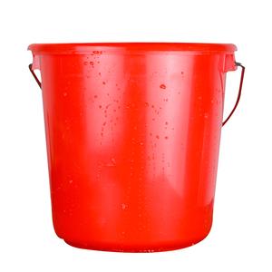 水桶手提加厚红色塑料桶储水红桶清洁拖地桶带盖结婚用品红桶精品