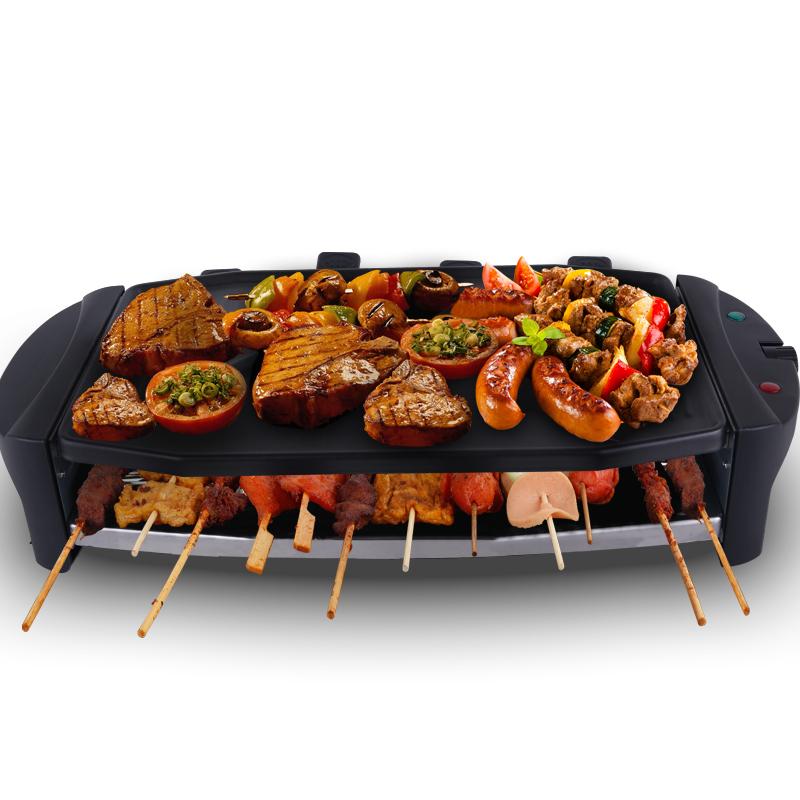 WingHang B710電烤爐家用電燒烤爐無煙烤肉機 電烤盤韓式鐵板燒