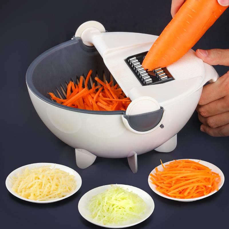 厨房多功能切菜神器家用土豆丝切丝器萝卜刨丝器擦丝器刮丝切片器