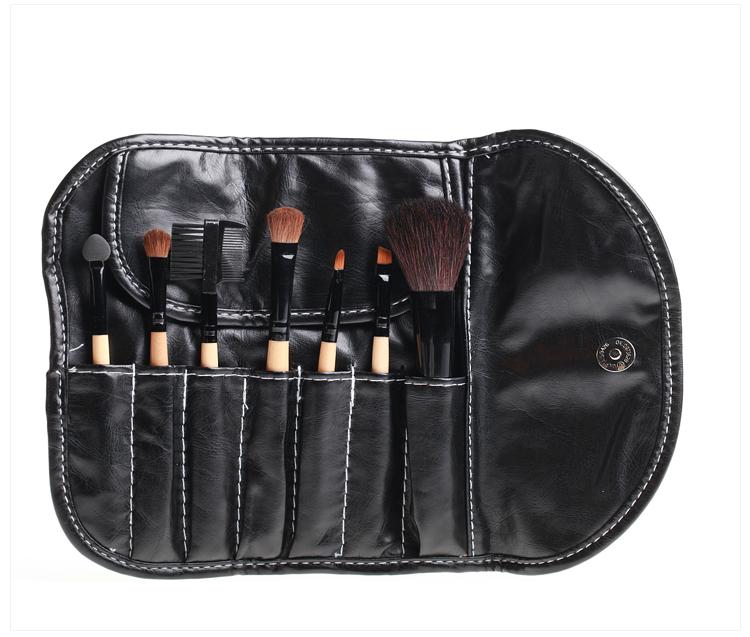 DANNI丹妮7件套化妆刷化妆包专业化妆套刷彩妆工具动物毛刷