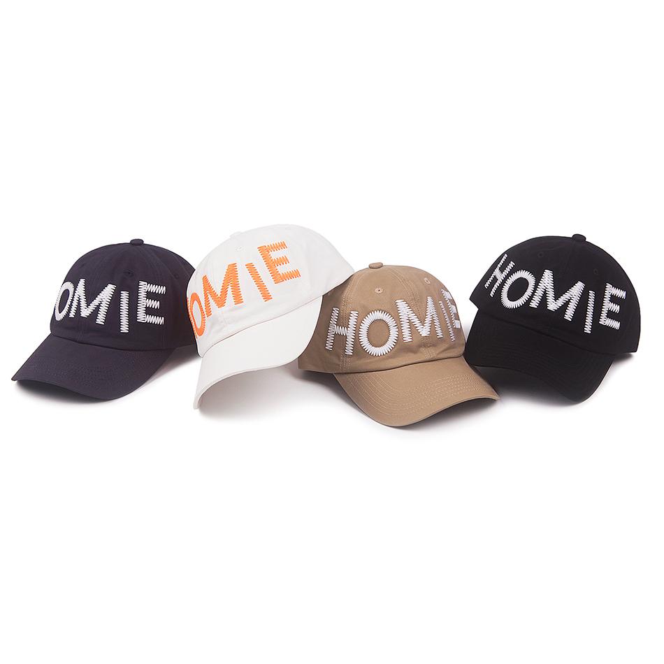 RIKY WONDER HOMIE 不规则HOMIE棒球帽 四色入 软顶弯檐帽棒球