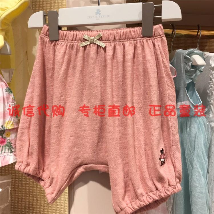 现货专柜正品TeenieWeenie宝宝小女孩童装18夏裤子TOTM83752A
