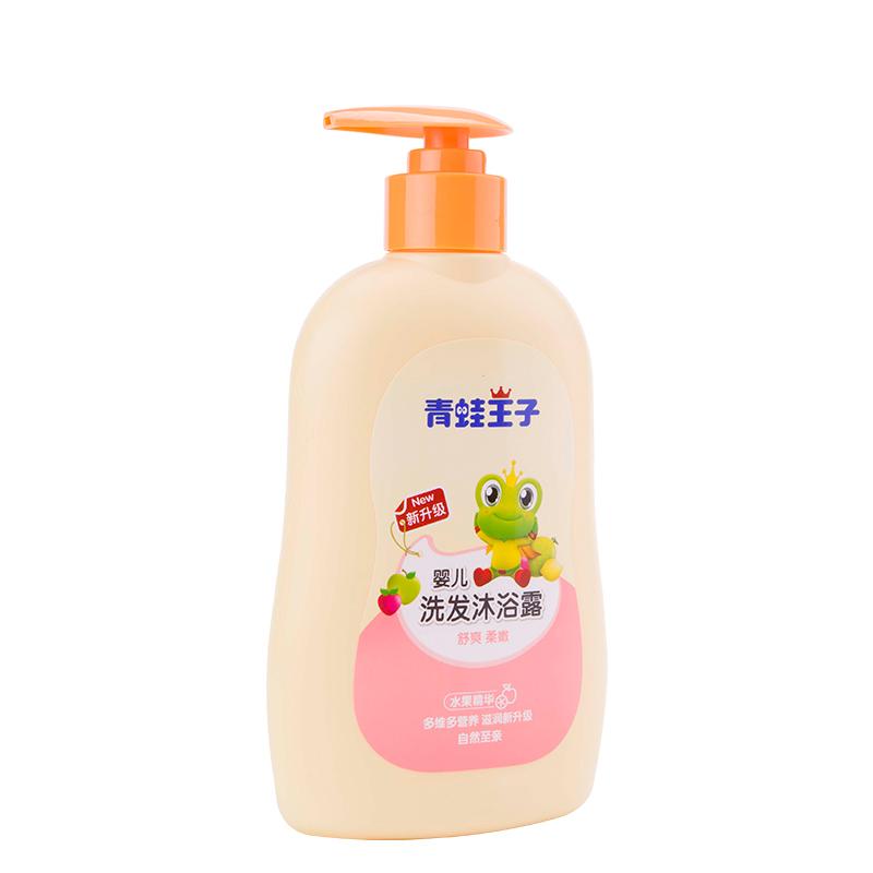 青蛙王子嬰兒洗發沐浴露(水果精華)310ml 舒緩滋潤寶寶洗發水